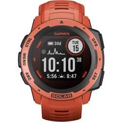 Smart hodinky Garmin Instinct® Solar, červená