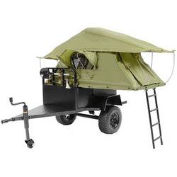 Image of RC4WD RC4WD Anhänger Bivouac Camping Trailer 1:10 Crawler-Anhänger RtR