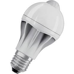 LED žiarovka OSRAM 4058075428348 230 V, E27, 9 W, teplá biela, A + (A ++ - E), tvar žiarovky, vr. detektora pohybu, 1 ks