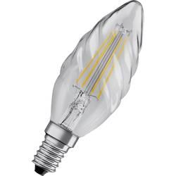 LED žiarovka OSRAM 4058075434202 230 V, E14, 4 W = 40 W, teplá biela, A ++ (A ++ - E), tvar sviečky, točený, 1 ks