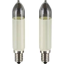 Image of Hellum 905021 Ersatzlampen 2 St. E14 Warmweiß