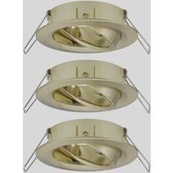 Zabudovateľný krúžok - Paulmann EBL Choose 92489 10 W, sada 3 ks, mosadz