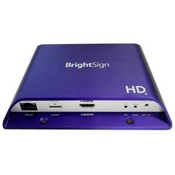 Image of BrightSign Digital Signage Player HD224 Standard I/O Player Digital Signage Player