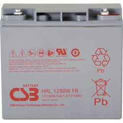 Olovený akumulátor CSB Battery HRL 1280W high-rate longlife HRL1280W-FR, 20 Ah, 12 V