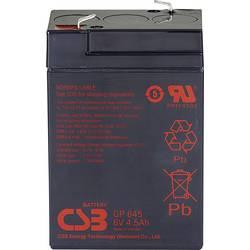Olovený akumulátor CSB Battery GP 645 Standby USV GP645F1, 4.5 Ah, 6 V
