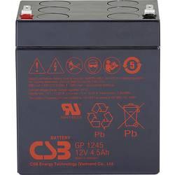Olovený akumulátor CSB Battery GP 1245 Standby USV GP1245F1, 4.5 Ah, 12 V