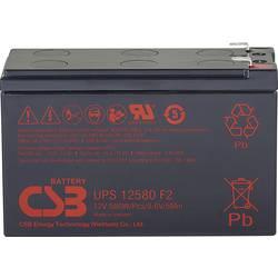 Olovený akumulátor CSB Battery UPS 12580 high-rate UPS12580F2, 9.4 Ah, 12 V