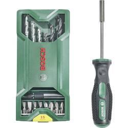 Sada bitov a vrtákov Bosch Accessories Mini X-Line 2607017654, 16-dielna