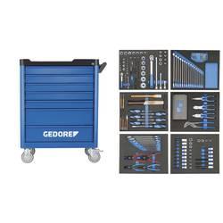Vozík na náradie Workster - s 190-dielnym sortimentom nástrojov Gedore 2980320, Rozmery:(d x š x v) 510 x 785 x 1045 mm, 93.6 kg