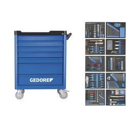 Vozík na náradie Workster - s 308-dielnym sortimentom nástrojov Gedore 2980347, Rozmery:(d x š x v) 510 x 785 x 99 mm, 105.6 kg