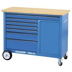 Pracovný stôl so 308-dielnym sortimentom nástrojov Gedore 1504 XL-TS-308 2980355, (š x v x h) 1250 x 990 x 550 mm