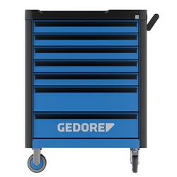 Vozík na náradie Workster - so 147-dielnym sortimentom nástrojov Gedore 3082105, Rozmery:(d x š x v) 510 x 785 x 1045 mm, 97 kg