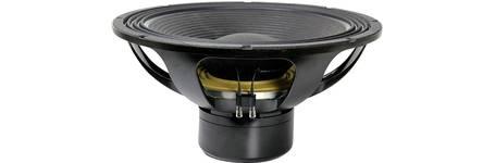 Lautsprecher-Chassis mit sichtbarer Schwingspule aus Kupfer