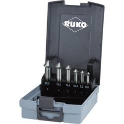 Sada kužeľových záhlbníkov 6-dielna HSS RUKO ULTIMATECUT 102790RO, 6.3 mm, 8.3 mm, 10.4 mm, 12.4 mm, 16.5 mm, 20.5 mm, 1 ks