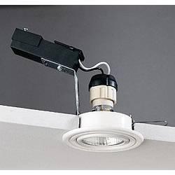 Image of Brumberg 0H199615 0H199615 Einbauleuchte Hochvolt-Halogenlampe GZ10 50 W Nickel