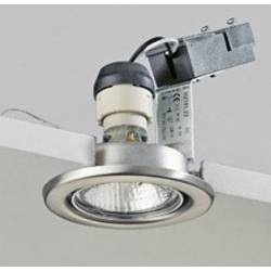 Image of Brumberg 0H219120 0H219120 Einbauleuchte Hochvolt-Halogenlampe GZ10 50 W Edelstahl