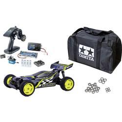 Tamiya Plasma Edge II 1:10 RC Modellauto Elektro Buggy Allradantrieb (4WD) Spar-Set 2,4 GHz Exklusiv Set*