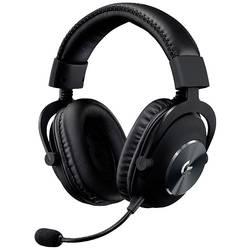 Logitech Gaming G PRO herný headset s USB káblový, stereo cez uši čierna