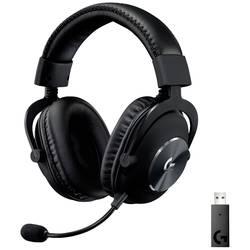 Logitech Gaming PRO X herný headset bezdrôtový 2,4 GHz bezdrôtový, stereo na ušiach čierna