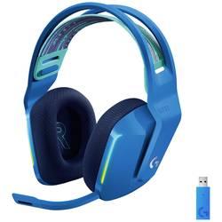 Logitech Gaming G733 LIGHTSPEED herný headset bezdrôtový 2,4 GHz bezdrôtový, stereo na ušiach modrá