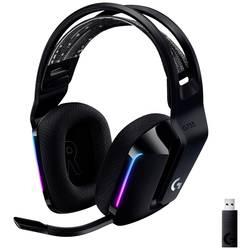 Logitech Gaming G733 LIGHTSPEED herný headset bezdrôtový 2,4 GHz bezdrôtový, stereo na ušiach čierna