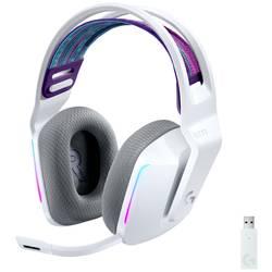 Logitech Gaming G733 LIGHTSPEED herný headset bezdrôtový 2,4 GHz bezdrôtový, stereo na ušiach biela