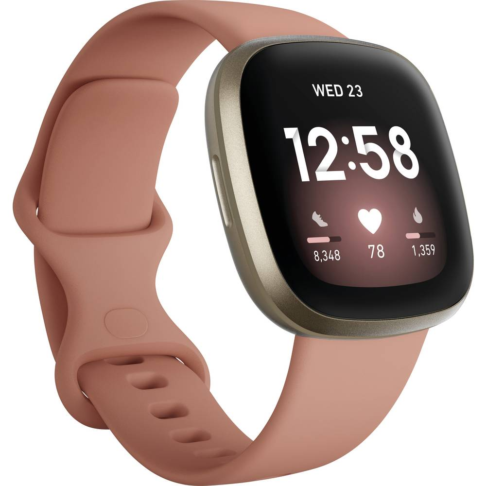 FitBit Versa 3 Smartwatch Uni Roze