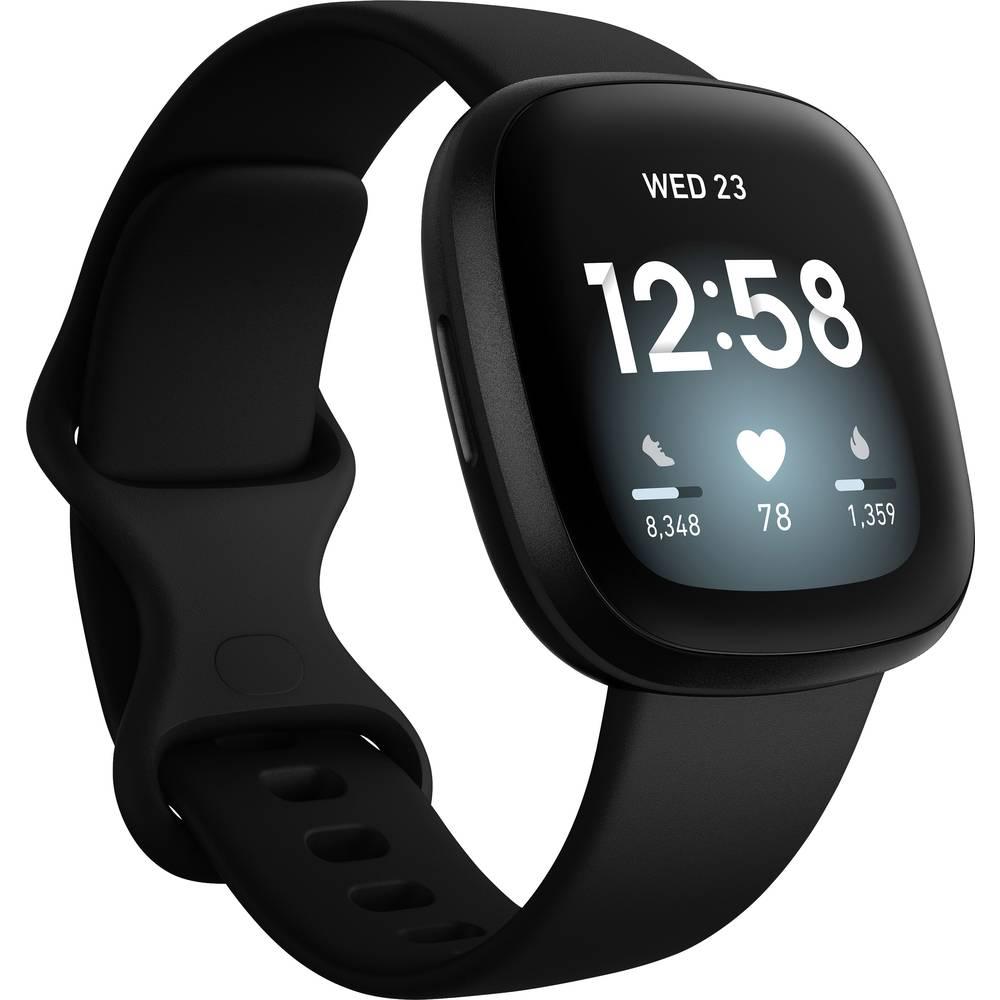 FitBit Versa 3 Smartwatch Uni Zwart