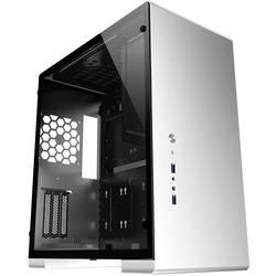 PC skrinka, herné puzdro midi tower Jonsbo U5S Silver , strieborná