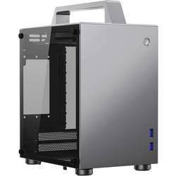 PC skrinka, herné puzdro mini tower Jonsbo T8 SILVER, strieborná