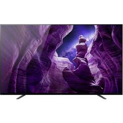 Sony Bravia KD-65A8 OLED TV 164 cm 65 palca Twin DVB-T2/C/S2, UHD, Smart TV, WLAN, PVR ready, CI+ čierna