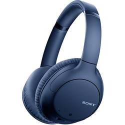 Bluetooth, káblové Hi-Fi slúchadlá Over Ear Sony WH-CH710N WHCH710NL.CE7, modrá