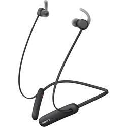 Bluetooth športové štupľové slúchadlá Sony WI-SP510 WISP510B.CE7, čierna