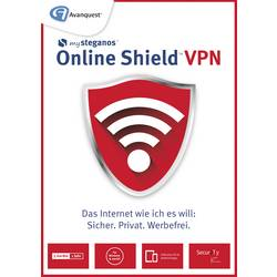 Image of Avanquest Steganos Online Shield VPN Vollversion, 5 Lizenzen Windows, Mac, iOS, Android Systemoptimierung