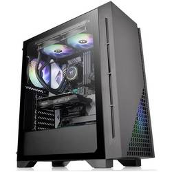 PC skrinka midi tower Thermaltake H330 TG, čierna