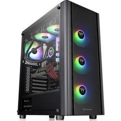 PC skrinka midi tower Thermaltake V250 TG ARGB, čierna