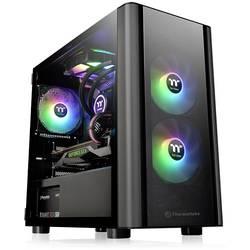 PC skrinka micro tower Thermaltake V150 TG, čierna