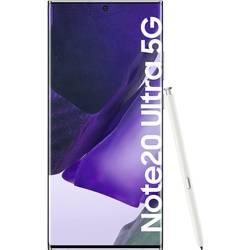 LTE smartfón Dual-SIM Samsung Galaxy Note 20 Ultra 5G, 17.5 cm (6.9 palca, 256 GB, 108 Megapixel, 12 Megapixel, 12 Megapixel, biela
