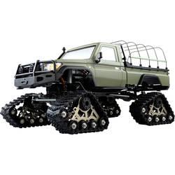 Amewi AMXRock RCX10BTS Scale Crawler Pick-Up mattgrün 1:10, RTR Brushed 1:10 RC Modellauto Elektro Crawler RtR 2,4 GHz*