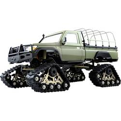 Amewi AMXRock RCX10PTS Scale Crawler Pick-Up mattgrün 1:10, RTR Brushed 1:10 RC Modellauto Elektro Crawler RtR 2,4 GHz*