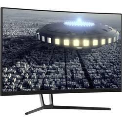 LC Power LC-M27-QHD-144-C herný monitor 68.6 cm (27 palca) 2560 x 1440 Pixel QHD 4 ms Audio-Line-out, DisplayPort, HDMI ™ VA LCD