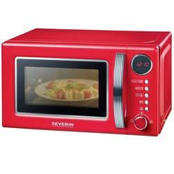 Mikrovlnná rúra Severin MW 7893 Retro, 700 W, funkcia časovača, funkcia grilovania, s funkciou varenia, multifunkčné