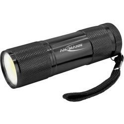 LED vreckové svietidlo (baterka) Ansmann Action COB 1600-0399, na batérie, čierna
