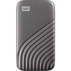 """Externý SSD pevný disk 6,35 cm (2,5"""") WD 500 GB, USB-C™, sivá"""