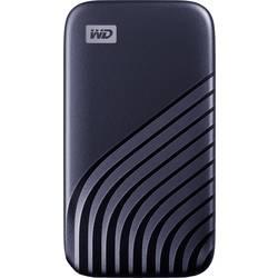 "Externý SSD pevný disk 6,35 cm (2,5"") WD My Passport, 500 GB, USB-C™, modrá"