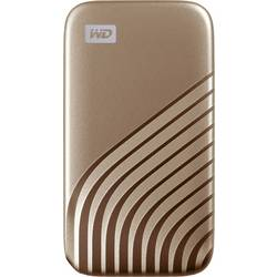 "Externý SSD pevný disk 6,35 cm (2,5"") WD My Passport, 500 GB, USB-C™, zlatá"