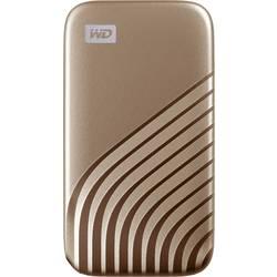 "Externý SSD pevný disk 6,35 cm (2,5"") WD My Passport, 1 TB, USB-C™, zlatá"