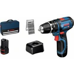 Aku príklepová vŕtačka Bosch Professional GSB 12V-15 06019B690K, + 2. akumulátor