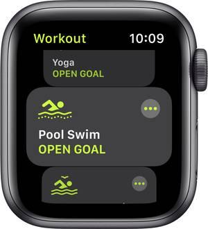Apple Watch SE 40mm in Space Grau