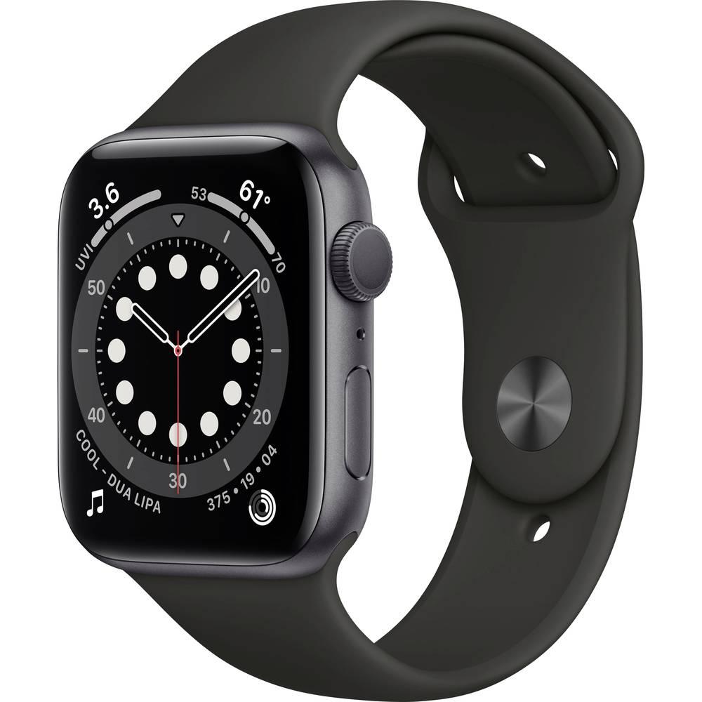 Apple Watch Series 6 Apple Watch 44 mm Zwart